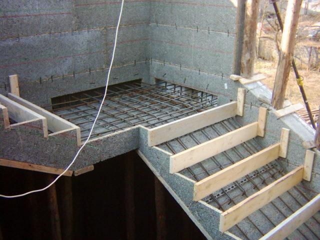 Также необходимо подумать о наличии марша лестницы, изготовлении ограждения и обустройстве важных деталей для лестницы