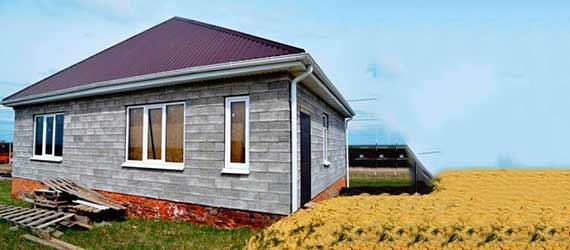 Дом из шлакоблоков или керамзитоблоков примеры и методы строительства