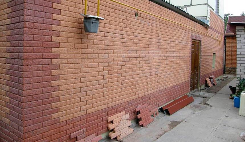 Фасадные панели - имитация кирпича