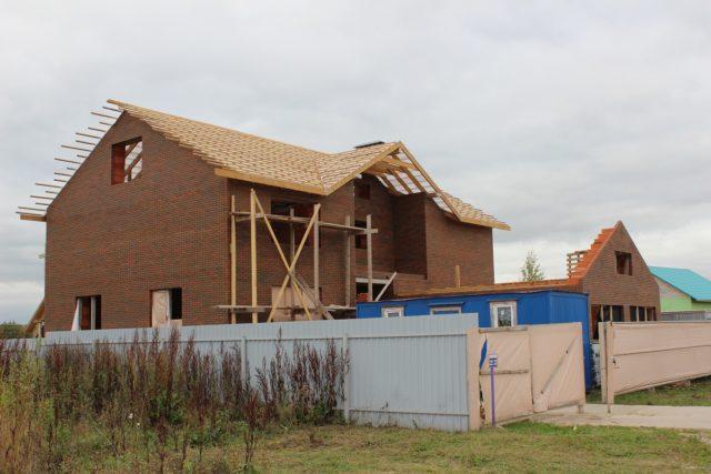 Строительство дома своими руками снижает затраты на 15-30 процентов