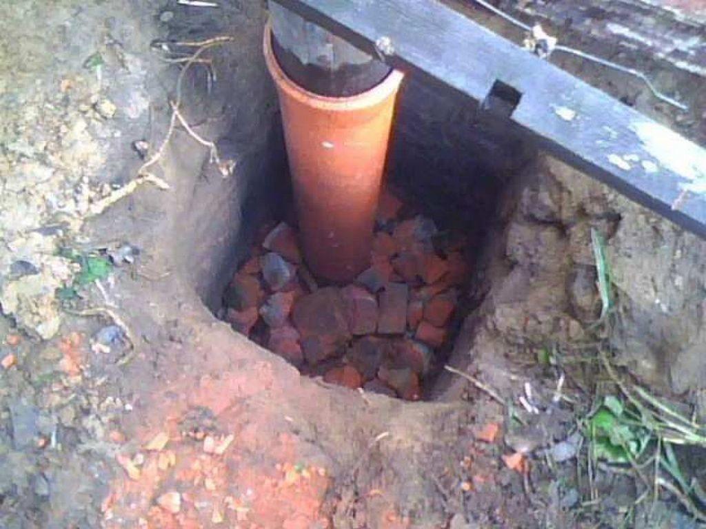Фундамент из пластиковых труб