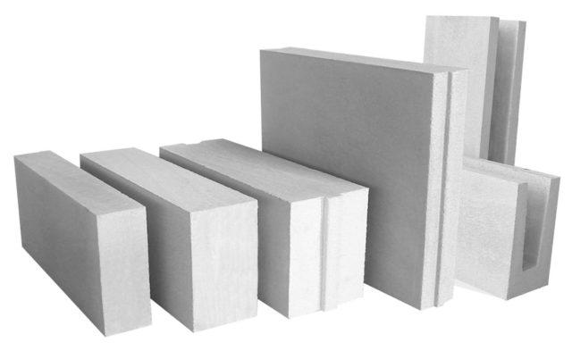 Они состоят из цемента, извести, гипса и алюминиевого порошка