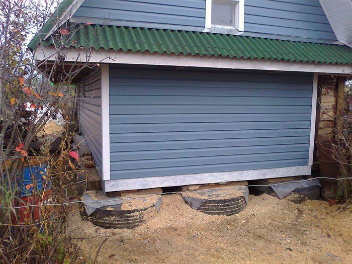 ⚙ Бюджетный фундамент для  дачного строительства, строительства гаража  как сэкономить ⚙
